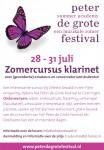 2016-Zomercursus klarinet-